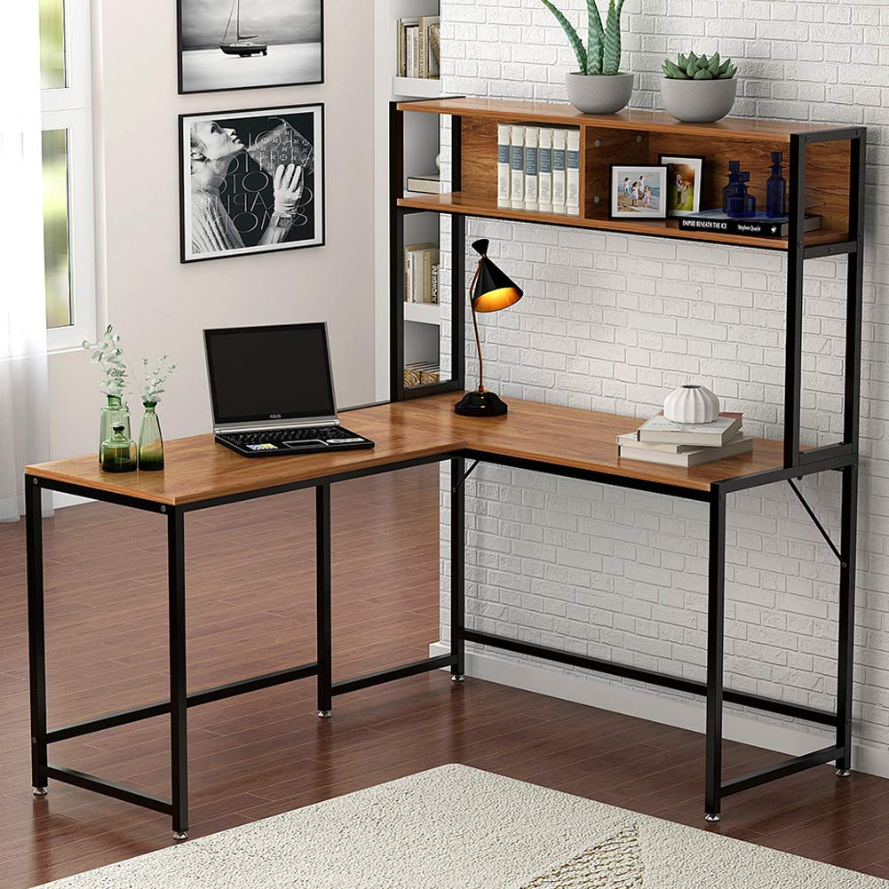 "umeroom-l-shaped-desk-with-hutch,55""-corner-computer-desk-gaming-table-workstation-with-storage-bookshelf-for-home-office"